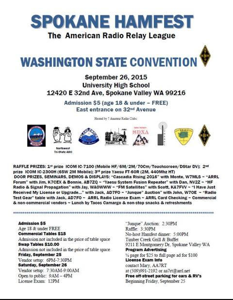 ARRL Washington State Convention